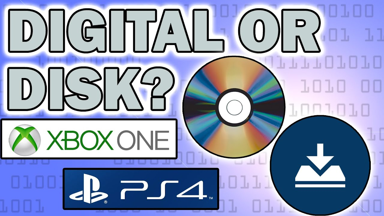or ps4 download disc digital