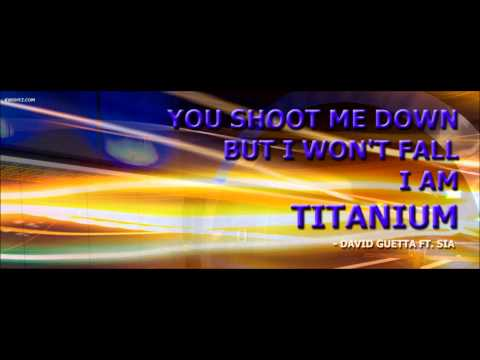 David Guetta ft Sia - Titanium  Ringtone
