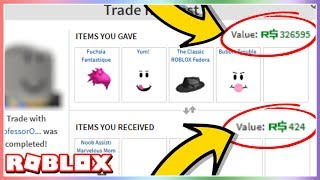 A Roblox Moderator Tried to SCAM Me?