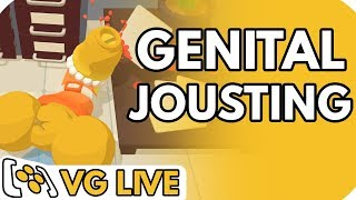 Genital Jousting (and a tiny bit of Street Fighter V: Arcade Edition) - VG Live