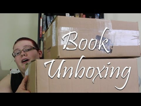 The Book Depository and Book Outlet Unboxing