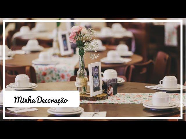 Fiz minha Decoração Sozinha! Vídeo Explicativo - Sem DIY l Dicas de uma Noiva