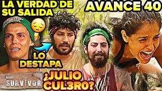 Survivor México 2. Sale Aranza, destapa a Julio cap 39, la verdad de lo que pasó, Avance 40