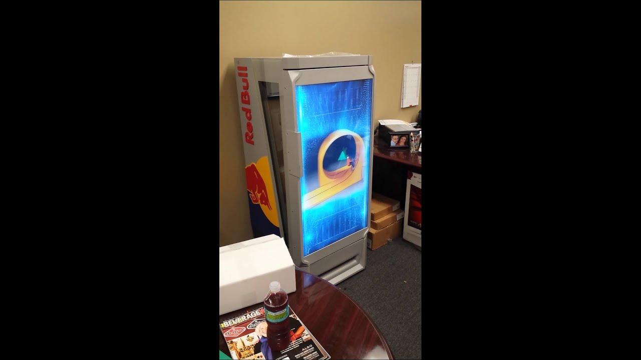 Redbull TV Cooler All In One YouTube