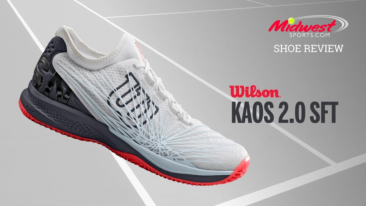 Wilson Kaos 2.0 SFT Shoe Review   Midwest Sports