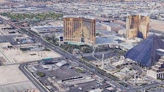 ラスベガス銃乱射事件の容疑者がいたホテルとコンサート会場の位置関係を解説