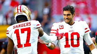 49ers WR Emmanuel Sanders Has Nothing But Praise for Jimmy Garoppolo | The Rich Eisen Show