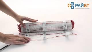 видео Теплые полы Electrolux EEFM 2-150-2,5 / Системы обогрева / Теплый пол