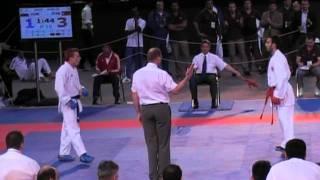 SERKAN YAGCI(TUR) 75KG - EKF 2010 Athens European Senior Karate Championship