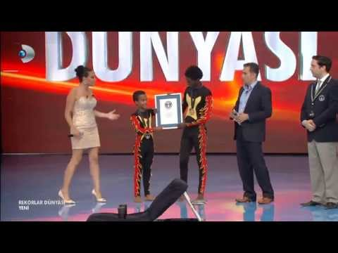 Ethio Circus Amanuel & Samuel  Break Guinness World Records