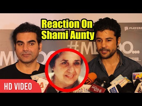 Arbaaz Khan And Rajeev Khandelwal On Shammi Aunty Death | Veteran Actor Shammi's No More