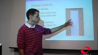 Un albaceteño diseña una aplicación móvil para que los ciegos puedan utilizar twitter