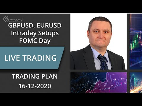EURUSD, GBPUSD: FOMC Day Possible Trading Setups, Technical Analysis, Price Action | Liteforex