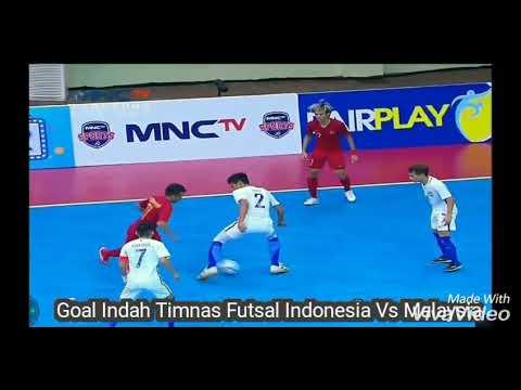Gol Indah Timnas Futsal Indonesia Vs Malaysia