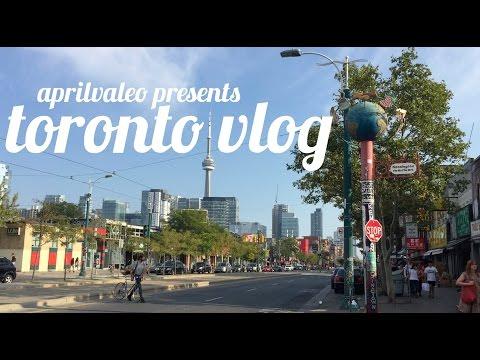 Toronto and Niagara Falls Travel Diary // April Valeo
