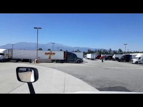 BigRigTravels LIVE! Carson to Ontario, California - Los Angeles area trucking June 26, 2017
