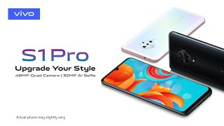 Vivo S1 Pro Trailer Introduction Official Video Commercial
