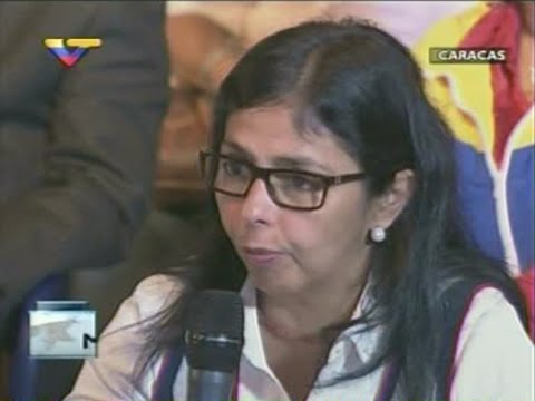 Delcy Rodriguez sobre reacciones de Guyana