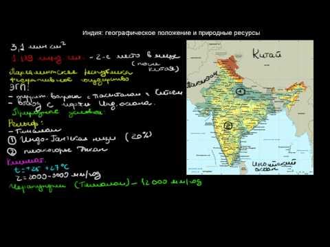 Зарубежная Азия природные ресурсы, население, хозяйство
