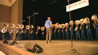 TnSU Tubas at the 2015 Honda Battle of the bands social
