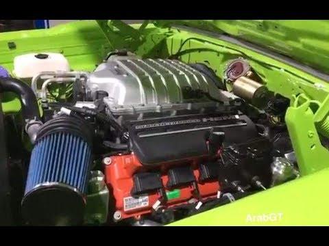 محرك هيلكات جاهز للتركيب على سيارتك معرض Sema 2017 Youtube
