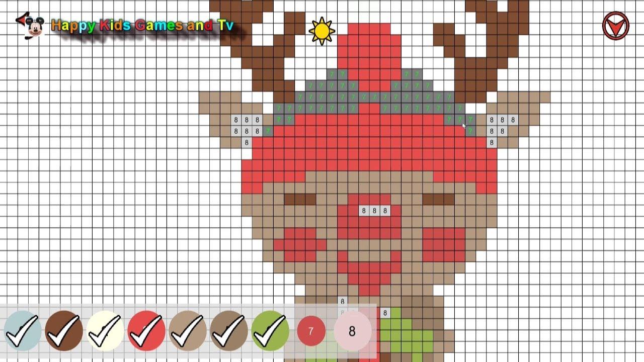 - Christmas Sandbox Coloring - Episode 1 - Best Games For Kids