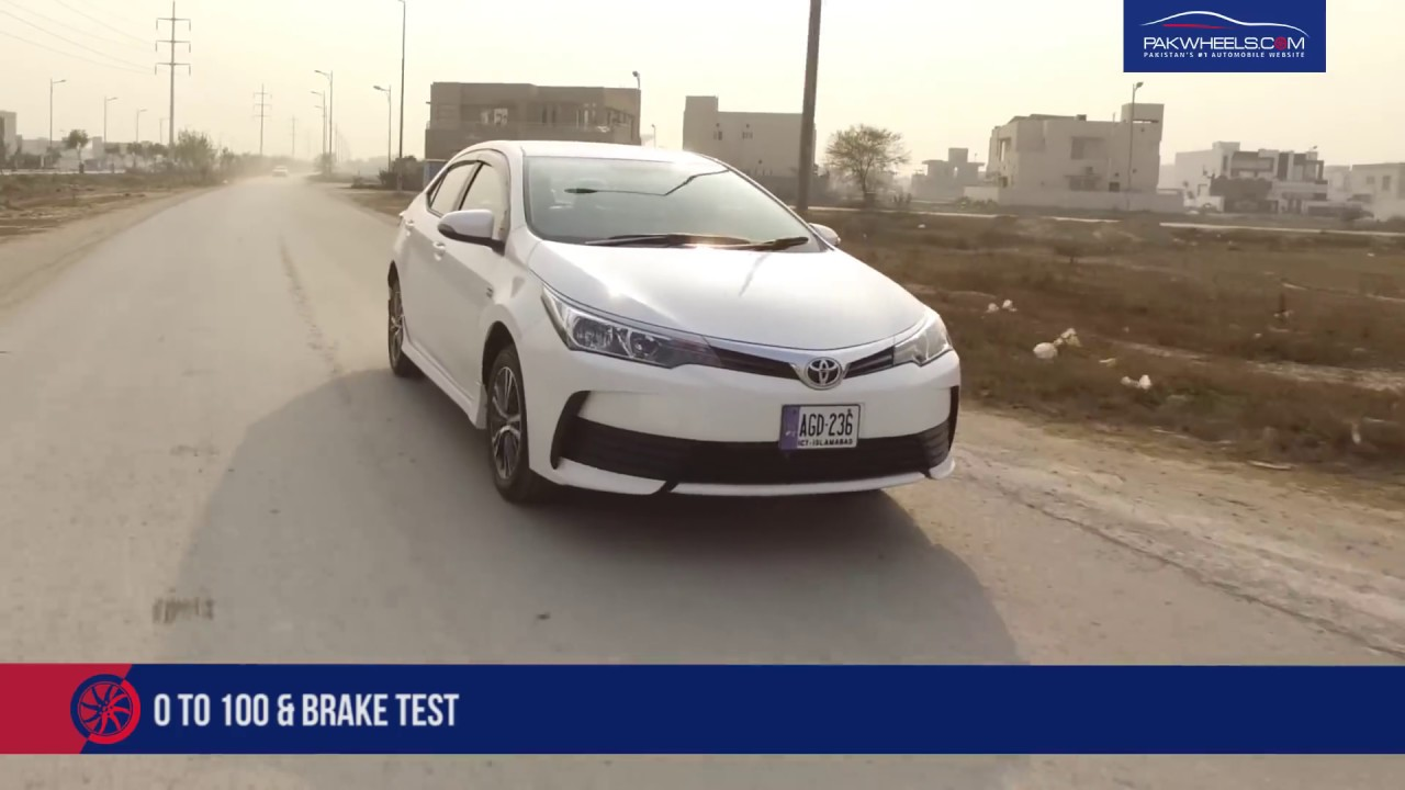 Toyota Corolla Altis 1.6 Detailed Review: Price, Specs & Features | PakWheels - YouTube