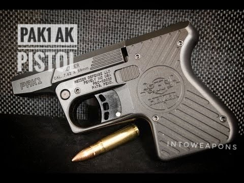 First Shots!  Heizer Defense 7.62x39 AK Pocket Pistol