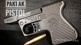 Heizer Defense 7.62x39 Pistol First Shots