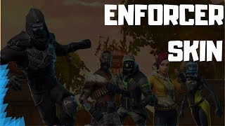 "New ""Enforcer"" Skin Showcased With Unreleased Dances / Fortnite Battle Royale"