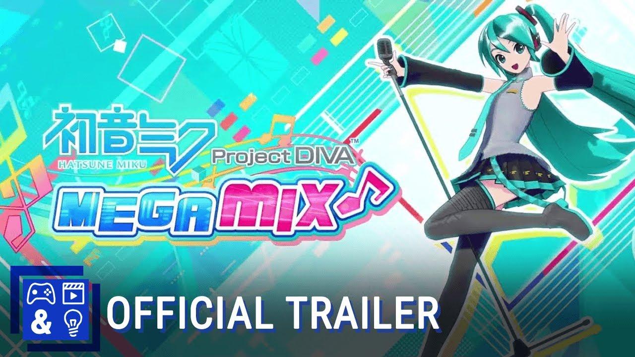 Hatsune Miku Project Diva Mega Mix Announcement Trailer Youtube