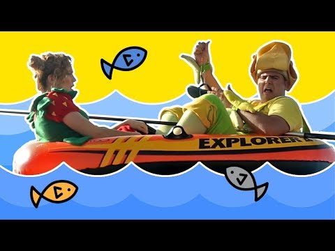 Fozi Mozi y Tutti van a pescar al mar