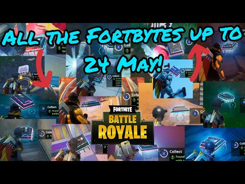 ALL OF THE FORTBYTE LOCATIONS! / Fortnite