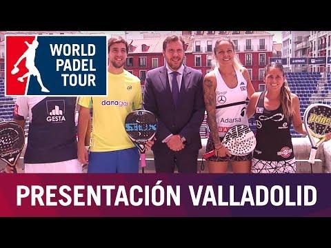 Presentación Valladolid Open 2017 | World Padel Tour