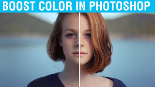 How to Increase Brightness and Color Contrast of a Photo in Photoshop CC, CS6 | Photoshop Tutorial
