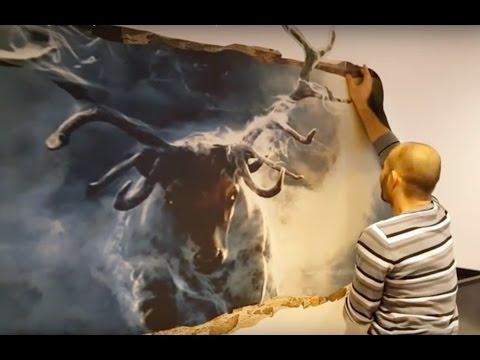 Mind Blowing 3D Wall Art Illusion