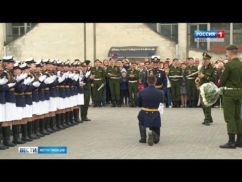 Тверские курсантки ВКО вернулись с Парада Победы