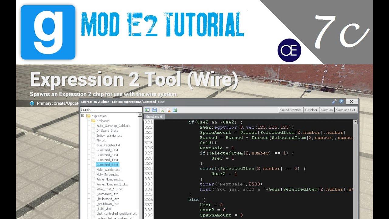 Chat commands gmod lua tutorials