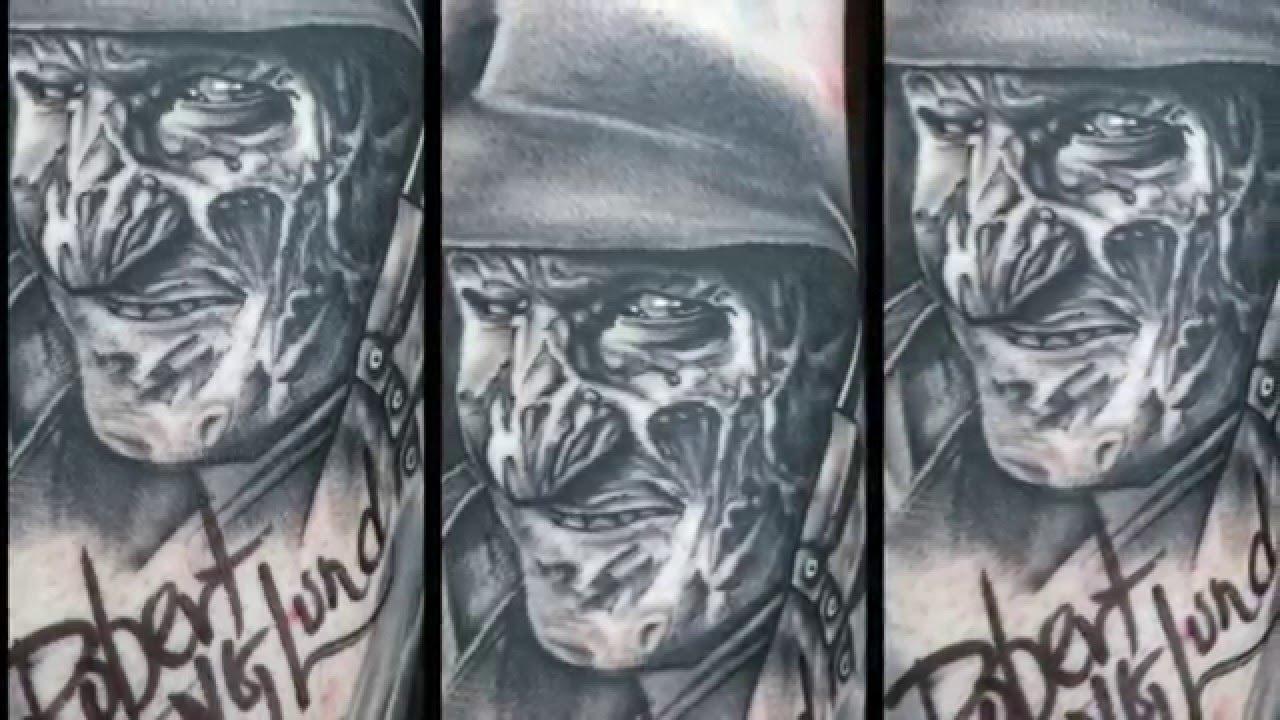 Freddy Krueger Tattoo Youtube