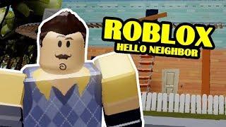 My Dear Neighbor 2 REMASTERED   Roblox Hello Neighbor