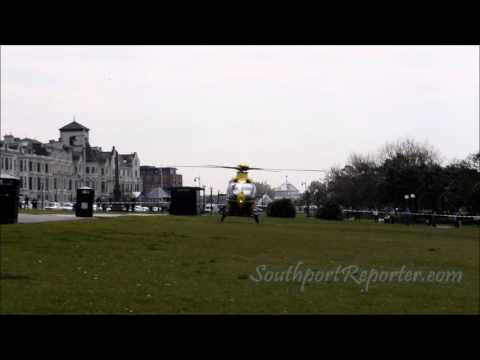 NWAA Southport responding to RTC call out on 2 May 2017