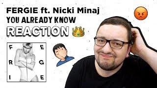 Fergie - You Already Know ft. Nicki Minaj (RUSSIAN'S Reaction)