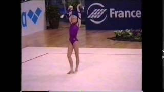 rhythmic gymnastics world championships 1995 in wien magdalena brzeska