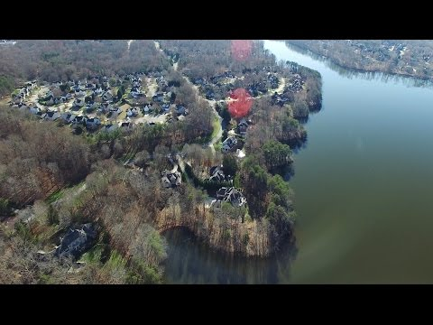 Aerial Views of Lake Jeanette & Eastern Shores Dr. - Greensboro, NC