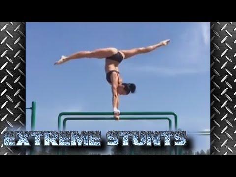 Extreme Gymnastics Stunts - Greatest Difficult Skills - Best in the World