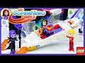 DC Superhero Girls Lego Wonder Woman's Invisible Jet Eclipso's Dark Palace Build Review Kids Toys