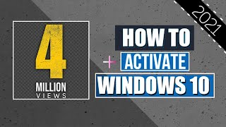 Windows 10 Pro Activation Free 2018 All Versions Without Any Software Or Product Key (January 2018)✔