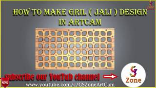 Simple Design with custom tool | Mdf Jali ( Grill ) Design | by - GS Zone