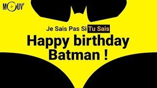 Happy birthday Batman !
