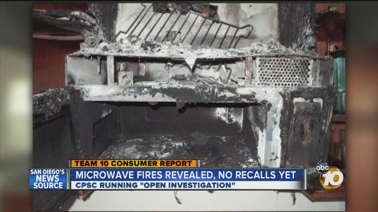 Consumer Reports Investigation Looks Into Microwave Fire Danger